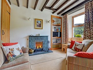 Cosy holiday home in the Lake District with a magnificent view over the surround