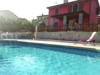 In the hills around Lucca, with pool and enclosed garden