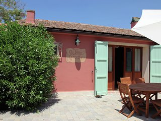 Authentic and tasteful villa with swimming pool, spacious garden, near the sea
