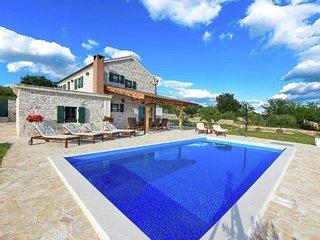 Spacious Villa Jerolim in Slivnica Dalmatia, Croatia with Fireplace