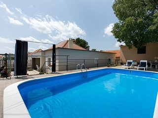 Charming holiday home with private swimming pool big terrace, near national park