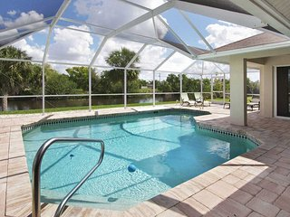 16% OFF! -SWFL Rentals - Villa Hannah - Large Canal Pool Home for Family of 7