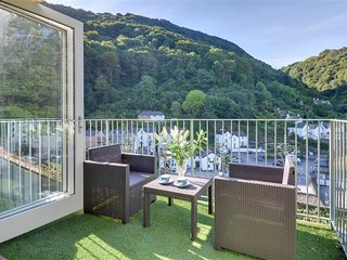 Stunning waterfront holiday home in Exmoor National Park
