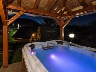 Adorable  home with pool and jacuzzi for use  surrounded by beautiful nature !