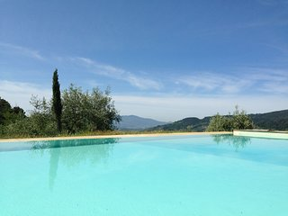 Modern Holiday Home in Pescia Tuscany with Swimming Pool
