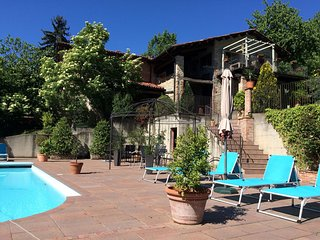 Spacious Mansion in Bastia Mondovì with Swimming Pool