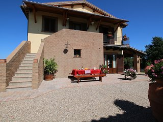 Tastefully decorated apartment in the Tuscia area with pool