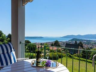 Luxury Holiday Home in Verbania with Balcony