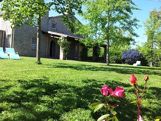 Holiday home with private garden at only 6km from Lake Bolsena