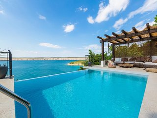 Wonderful  home with pool and amazing sea view . Near the beach !
