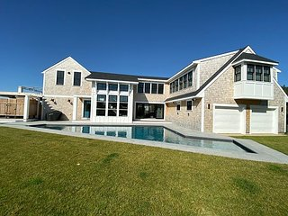 New Contemporary Home with Heated Pool