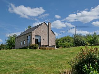 New bungalow in Moressée (Heure) with magnificent panoramic view