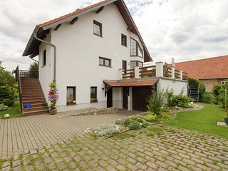 Beautiful apartment in the Harz with a terrace directly on to the R1 bike path