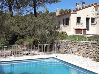 Verrukelijke rest this holiday villa in beautiful forest in Lorgues