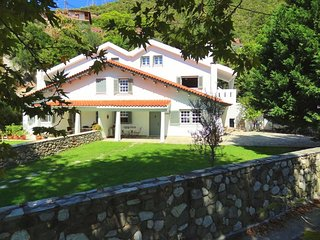 Nice villa on the beach, 10 m from sea in a village with nice little harbour