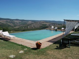 Cozy Holiday home at the hilltop of Celle Sul Rigo Tuscany.