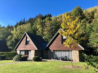 Comfortable chalet with a dishwasher, not far from Malmédy