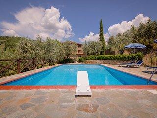 Spacious Villa with Private Pool in Castiglion Fiorentino