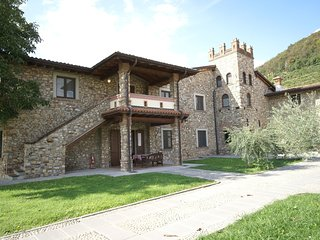 Apartment near lake Iseo,with its own wine production and a shared pool