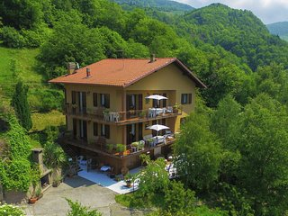 Apartment in 2-family house, large balcony, lake view, shared pool, in the green