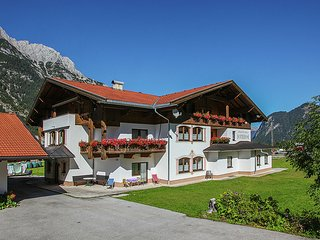 Lovely Aparment in Leutasch Tyrol with Meadow around