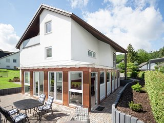 Detached group accommodation in the Sauerland with garden, balcony and common ro