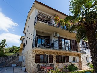 Nice apartment with terrace,300 m distant from the sea!