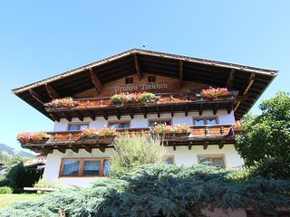 Chic Apartment in Hollersbach im Pinzgau With Balcony