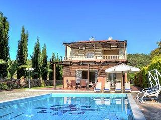 Beautiful villa in private olivegrove , private pool, near Sisi, NE coast