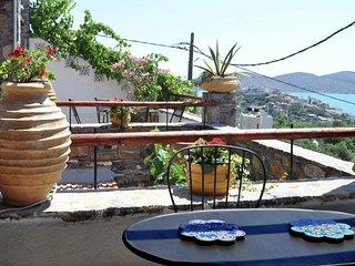 Greek Style Villa in Crete with terrace offering sea views
