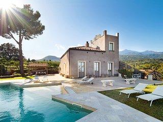 Comfortable Villa in Zafferana Etnea with Private Pool