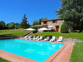 Villa with private swimming pool and garden in fascinating Val D'Orcia