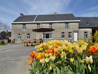 Holiday home with large garden in the heart of the Flemish Ardennes