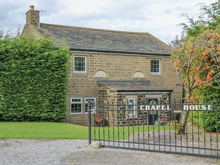 CHAPEL HOUSE, detached, stone-built cottage, woodburner, Sky TV, WiFi, in
