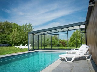 Ardennes holiday home with private pool & sauna