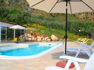 Elegant Holiday Home in San Fratello with Private Pool