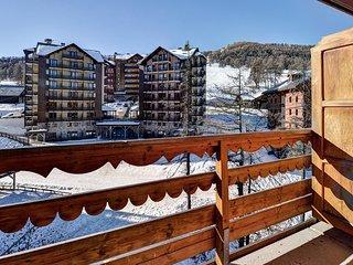 Appart Cosy Près à Risoul Seulement 300m des Pistes | Local à Skis