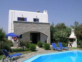 Beautiful villa with pool near the beach.
