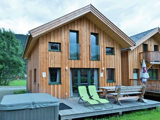 Modern Wooden Chalet in Sankt Georgen ob Murau with Jacuzzi