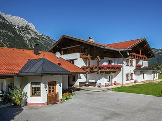 Superb Aparment in Leutasch Tyrol with Meadow around
