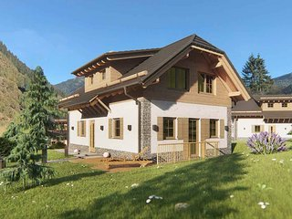 Chalet with private sauna and bedroom on the ground floor, near the lift
