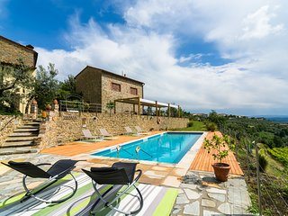 Authentic Tuscan farmhouse in the birthplace of Leonardo da Vinci