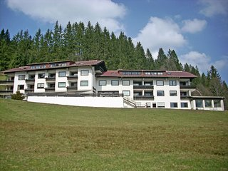 Quaint Apartment with Heated Pool andSauna in Riezlern