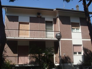 Apartement in Cattolica with garden, only 600 metres from the sea