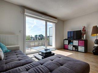 Bel appartement paisible et spacieux a quelques minutes de Vannes