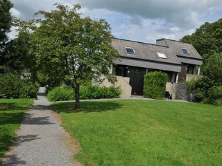 Functionally furnished bungalow located in the Ourthe Valley
