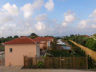 Estia, stylish villa, a step to the sandy beach