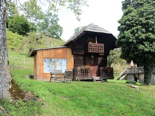 Cosy Holiday Home in Leibenfels with barbecue