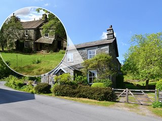 Beautiful stone built property offering plenty of character and large private ga