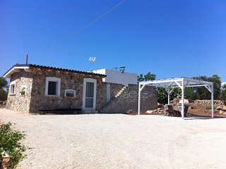Elegant detached Trullo with garden and terrace overlooking the sea!